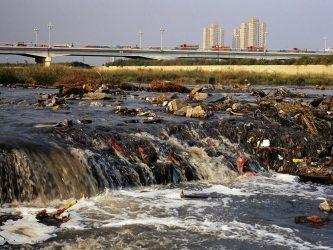 Загрязнение рек и озер России