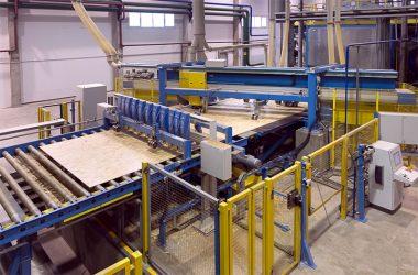 Оборудование для производства ОСП плит