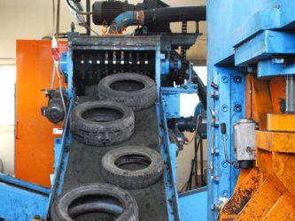 Оборудование для утилизации покрышек