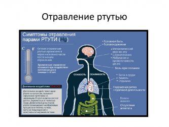 Можно ли отравиться ртутью из градусника симптомы?